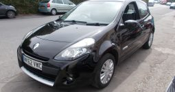 RENAULT CLIO 1.2 EXPRESSION PLUS, 3DR, H/B, BLACK MET, 35000 MILES ONLY, VERY CLEAN EXAMPLE