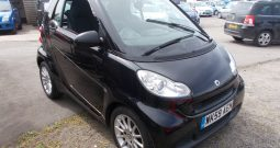SMART FORTWO 1.0 AUTO, 3DR, H/B, BLACK MET, 67000 MILES ONLY, VERY CLEAN EXAMPLE, £30 ROAD TAX