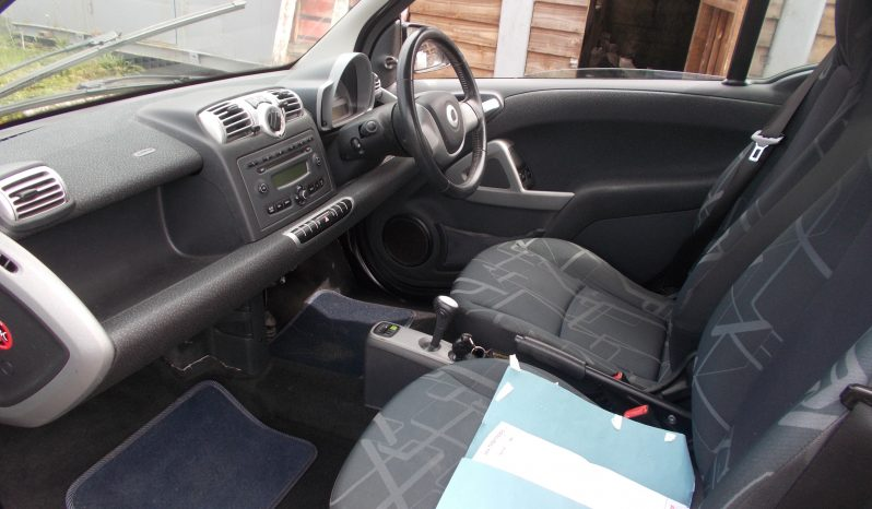 SMART FORTWO 1.0 AUTO, 3DR, H/B, BLACK MET, 67000 MILES ONLY, VERY CLEAN EXAMPLE, £30 ROAD TAX full
