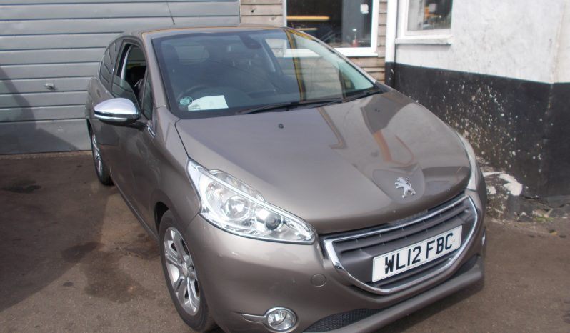 PEUGEOT 208 1.4 HDI ALLURE, 3DR, H/B, CHAMPAGNE MET, 58000 MILES ONLY, VERY CLEAN EXAMPLE, HALF LEATHER, £0 ROAD TAX full