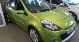 RENAULT CLIO 1.5 DYNAMIQUE TOMTOM SPORT TOURER, 5DR, H/B, ESTATE, LOW MILES, £20 ROAD TAX, VERY CLEAN EXAMPLE