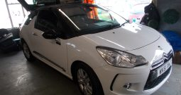 CITROEN DS3 1.6 HDI DSTYLE, 3DR, H/B, WHITE, LOW MILES, VERY CLEAN EXAMPLE, £0 ROAD TAX