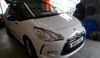 CITROEN DS3 1.6 HDI DSTYLE, 3DR, H/B, WHITE, LOW MILES, VERY CLEAN EXAMPLE, £0 ROAD TAX full
