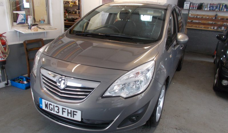 VAUXHALL MERIVA 1.4 TECH LINE, 5DR, H/B, MPV, CHAMPAGNE MET, 43000 MILES ONLY, VERY CLEAN EXAMPLE full