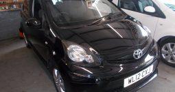 TOYOTA AYGO 1.0 FIRE, 3DR, H/B, BLACK MET, LOW MILES, £0 ROAD TAX, VERY CLEAN EXAMPLE