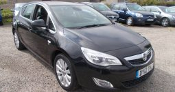 VAUXHALL ASTRA 1.6 SE, 5DR, H/B, BLECK MET, LOW MILES, VERY CLEAN EXAMPLE