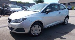 SEAT IBIZA 1.2 TDI S, 3DR, H/B, SILVER MET, LOW MILES, VERY CLEAN EXAMPLE, £20 ROAD TAX