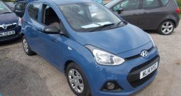 HYUNDAI I10  1.0 S AIR, 5DR, H/B, BLUE, £20 ROAD TAX, VERY CLEAN EXAMPLE