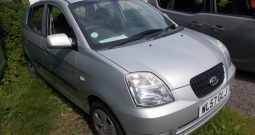 KIA PICANTO 1.0 GS, 5DR, H/B, SILVER MET, 47000 MILES ONLY, VERY CLEAN EXAMPLE