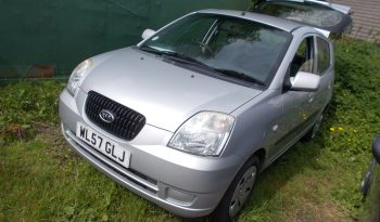 KIA PICANTO 1.0 GS, 5DR, H/B, SILVER MET, 47000 MILES ONLY, VERY CLEAN EXAMPLE full