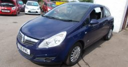 VAUXHALL CORSA 1.0 S, 3DR, H/B, BLUE, VERY CLEAN EXAMPLE