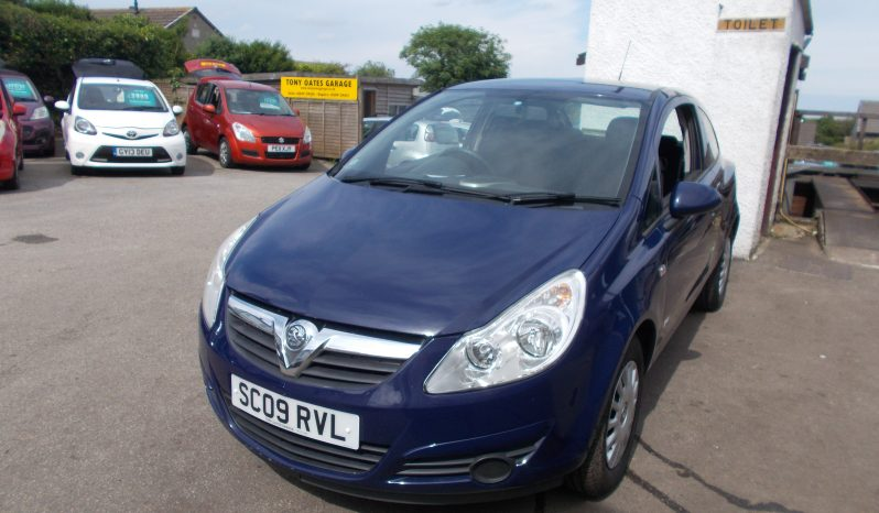 VAUXHALL CORSA 1.0 S, 3DR, H/B, BLUE, VERY CLEAN EXAMPLE full