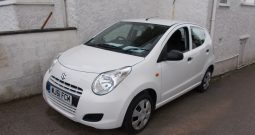 SUZUKI ALTO SZ2 1.0, 5DR, H/B, WHITE, 41000 MILES ONLY, £20 ROAD TAX, VERY CLEAN EXAMPLE