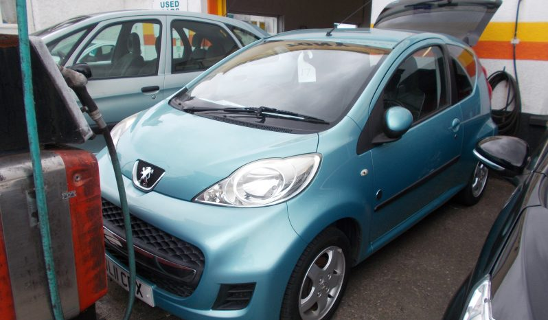 PEUGEOT 107 1.0 ENVY, 3DR, H/B, RED, 31000 MILES ONLY, VERY CLEAN EXAMPLE full