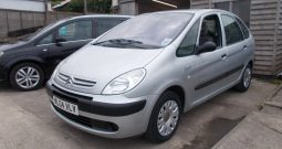 CITROEN XSARA PICASSO 1.6 LX, 5DR, H/B, SILVER MET, 36000 MILES ONLY, CORNISH, VERY CLEAN EXAMPLE