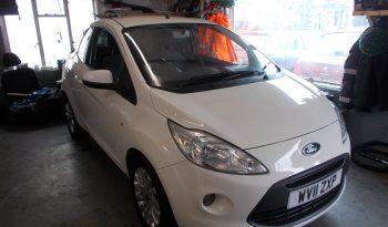 FORD KA 1.2 ZETEC, 3DR, H/B, WHITE, LOW MILES, £30 ROAD TAX, VERY CLEAN EXAMPLE full
