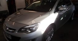 VAUXHALL ASTRA 2.0 CDTI SRI, 5DR, H/B, SILVER MET, 54000 MILES ONLY, VERY CLEAN EXAMPLE