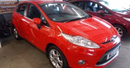 FORD FIESTA 1.4 ZETEC, 5DR, H/B, RED, 47000 MILES ONLY, VERY CLEAN