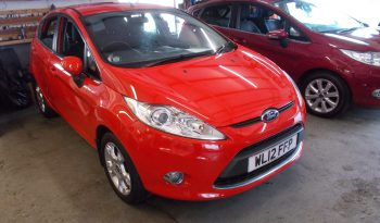 FORD FIESTA 1.4 ZETEC, 5DR, H/B, RED, 47000 MILES ONLY, VERY CLEAN full